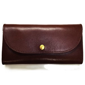 Tochigi Leather Use Flap Long Wallet