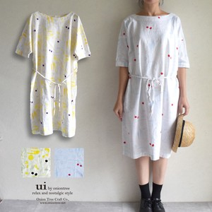 Vegetable One-piece Dress Scandinavia Natural