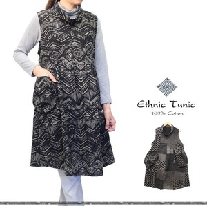 Cotton Ethnic Motif Roll Color Tunic