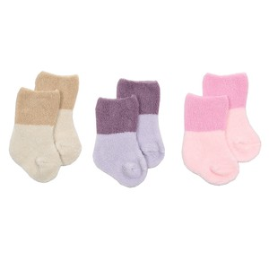 Anna Nicola Pile Socks 3 Pairs Socks Tights Leggings