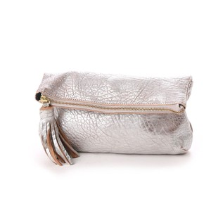 Big Tassel Attached Clutch Bag Shoulder