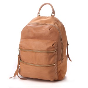 Cow Leather Nylon Backpack