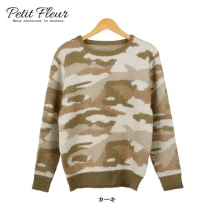 A/W Limit Jacquard Camouflage Knitted Pullover Rule