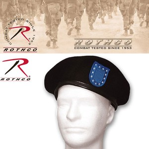 Rothco G.I. Type Beret w/ Blue Flash  15236