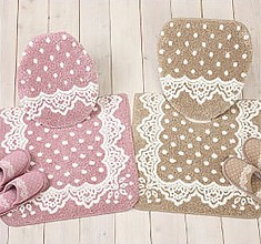 Lace Toilet Fabric Series 2 Colors