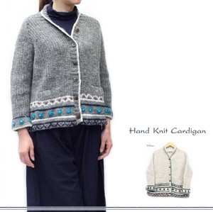 Hand Knitting Wool Knitted Cardigan