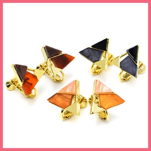 3 Colors Triangle Earring