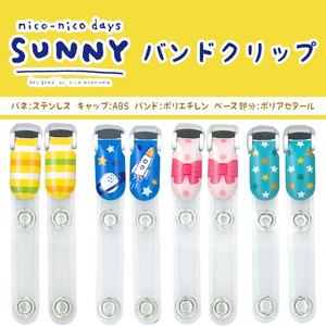 Handicraft Material nico-nico days Band Clip