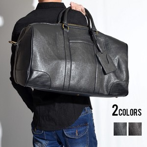 Large capacity Leather Overnight Bag
