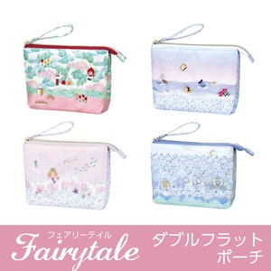 Double Flat Pouch Make Up Pouch