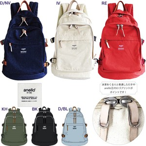 Print Cotton Canvas Handle Backpack
