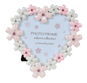 Sakura Heart Metal Photo Frame Sakura Series