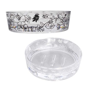 Soap Dish Black White Series Interior Accessory