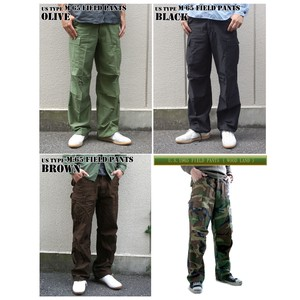 Type Field Pants 4 Colors