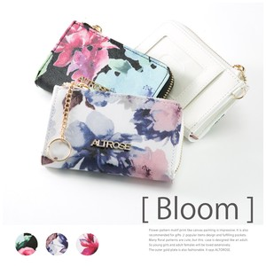 Floral Pattern Coin Case Room