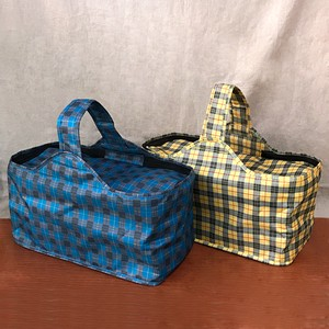 Tartan Cooler Bag Handle Cooler Bag