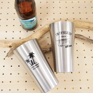 Stainless Tumbler Size L Vacuum Double Construction Temperature Fun