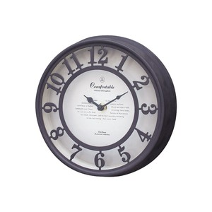 OLD STREET WALL CLOCK BEIGE