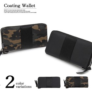 Urethane Canvas Long Wallet Long Wallet