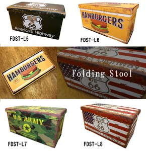 Folding Stool American Miscellaneous goods