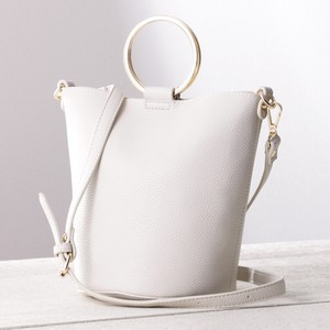 Bucket Ring Handle Shoulder Bag