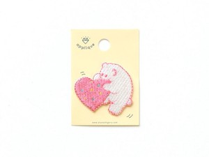 <アップリケ>Applique S AQS-06 polar bear