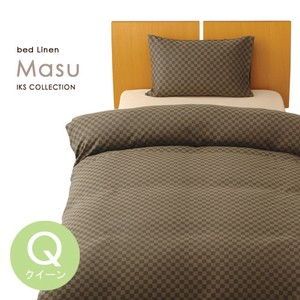 Bedspread Cover 10cm Grid Pattern Checkered Pattern Life Modern Bed