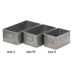 Feel Tinplate Material Set Rectangle Storage