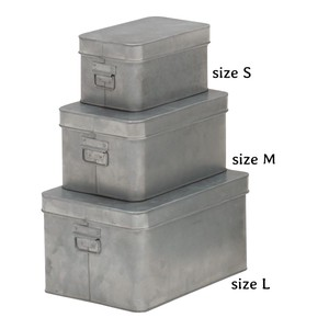Feel Tinplate Material Set Number Attached Storage