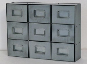 Feel Tinplate Material Tinplate Drawer