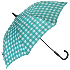 Umbrella One push Umbrellas Gingham
