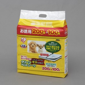 Pet Sheet Consumable Sanitation Clean Pet Sheet Regular Half