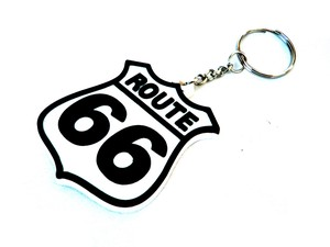 ROUTE66 is the Mother Road!【ルート66ラバーキーチェーン】