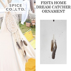 ■2017SS 新作■ FESTA HOME Dream Catcher Ornament