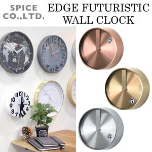 ■スパイス SALE■ EDGE FUTURISTIC WALL CLOCK