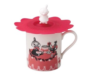The Moomins Silicone Cup Cover Attached Mug