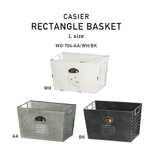 Rich Locker Design Iron Storage Basket Lecht Basket