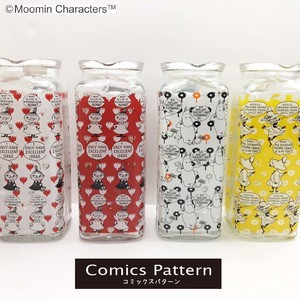 【MOOMIN Comics Pattern】ガラスポット