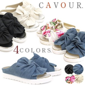 Flat Sandal Belt Slipper Shoes Ribbon