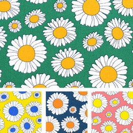 Fabric Half Cut Half Half Cut Closs DAISY