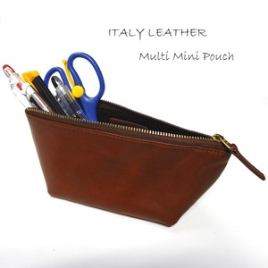 Italy Leather Multi Mini Pouch