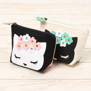 Floral Pattern Pouch