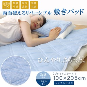 Mattress Pad Washable Coolness Cool Deodorize Premium Floor Pad