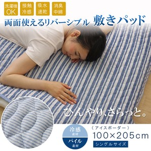 Mattress Pad Single Washable Coolness Cool Deodorize Ice Border Floor Pad