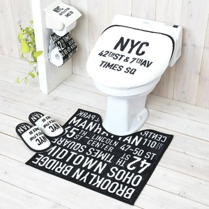 Set Square Toilet Kitchen Mat