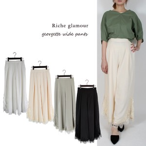 S/S Lace wide pants
