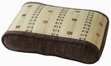 Rush Wave Pillow Low Rebounding Brown