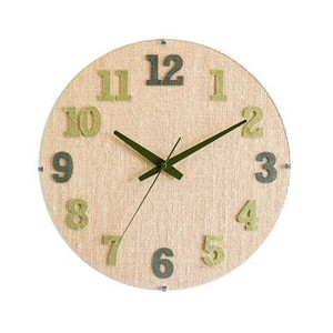 Wall Hanging Product Clock/Watch Green