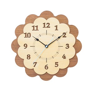 Wall Hanging Product Clock/Watch Walnut