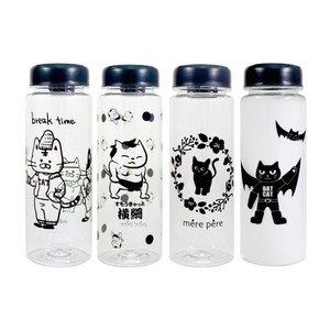 Cat Clear Bottle 4 Types Water Flask Canister Youth Bottle Lucky Bag